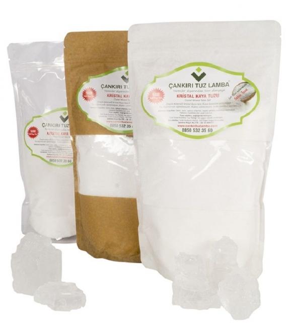 Çankırı Doğal Kaya Tuz 5 Kg