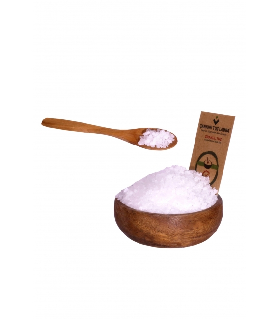 Granül Sofrada Öğütme Kristal Kaya Tuzu Çankırı 5 Kg